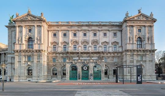 Bilhete para o Weltmuseum Wien e o Arsenal Imperial - Coleção de instrumentos musicais históricos no Palácio de Hofburg