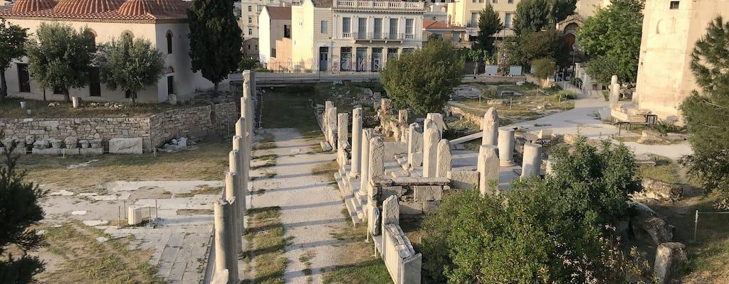 Klasyczna wycieczka rowerem elektrycznym na Akropol