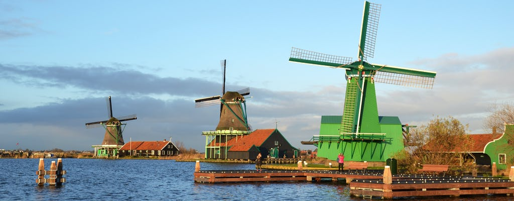 Windmill tour to Zaanse Schans from Amsterdam