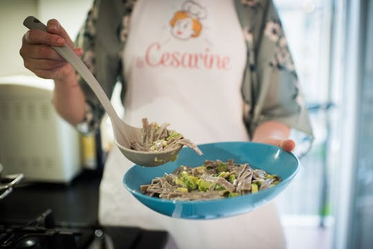 Cooking class and tasting at a Cesarina's home in Milan