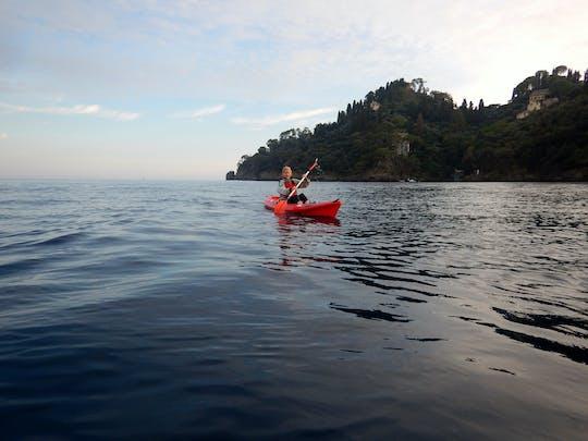 Kayak di Portofino e tour del vino al tramonto