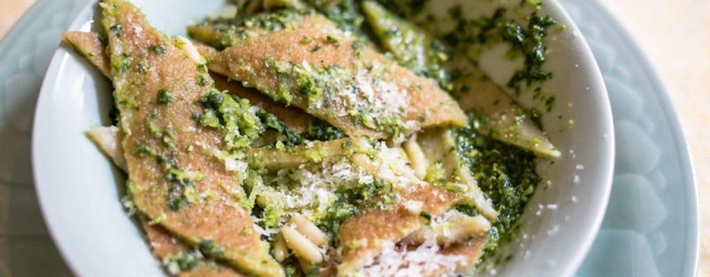 Pranzo o cena a casa di una Cesarina con show cooking a Firenze