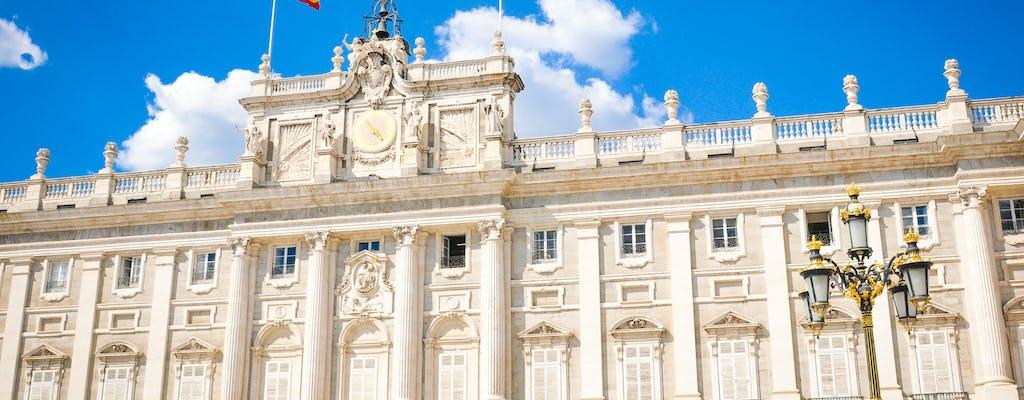 Entrada a primera hora al Palacio Real y recorrido por lo mejor de Madrid con vistas desde una azotea