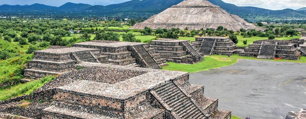 Sonnenaufgang bei den Teotihuacan Pyramiden und Besuch der Basilika von Guadalupe