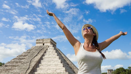 Chichen Itza and Valladolid full-day tour with Cenote swim and lunch