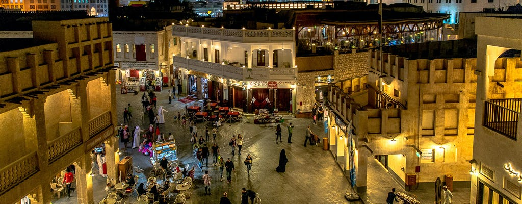Souq Waqif tour with dinner in Qatar