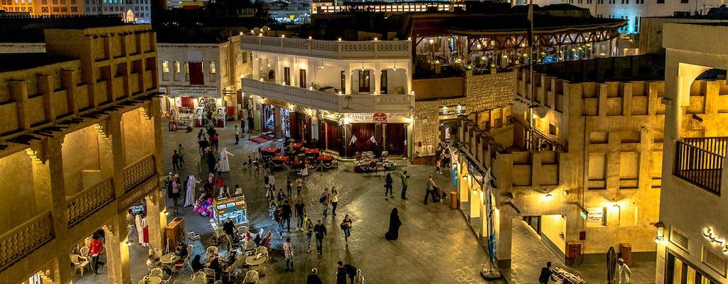 Visite du souk Waqif avec dîner au Qatar