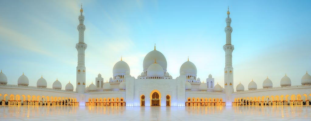 Guided Abu Dhabi full-day sightseeing tour with transfers