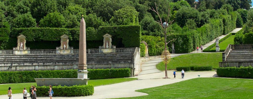 Rondleiding door Palazzo Pitti, de Boboli-tuinen en de Bardini-tuinen