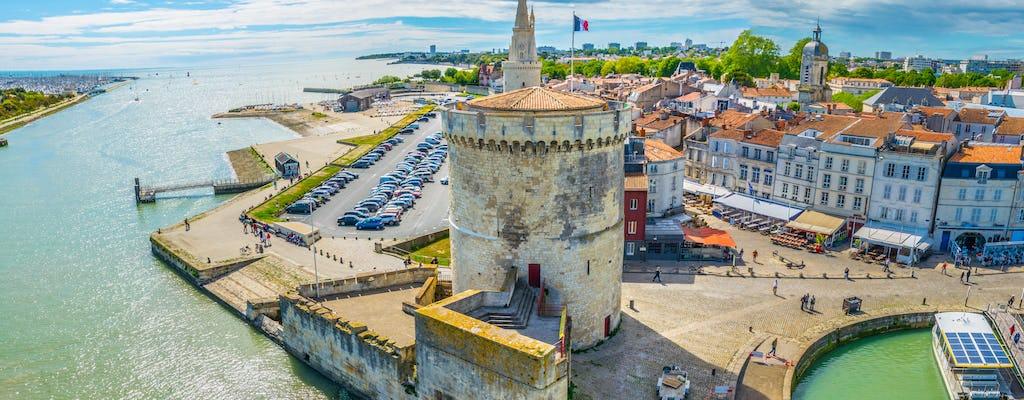 Entradas a las torres de La Rochelle