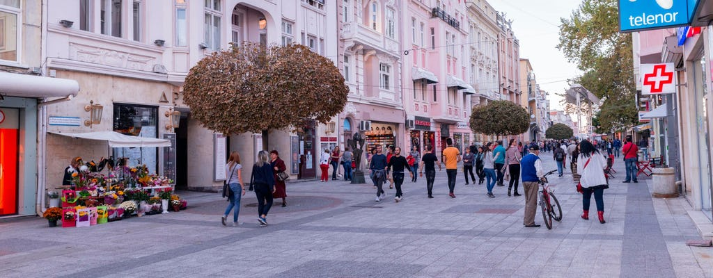 Visita culturale della città vecchia di Plovdiv