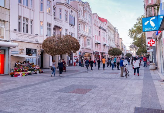 Cultural tour of Plovdiv's Old Town