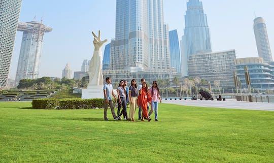 Tour pela arquitetura do centro de Dubai
