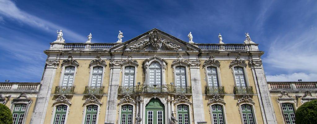 Sintra, wybrzeże Estoril i prywatna wycieczka do pałacu Queluz z Lizbony