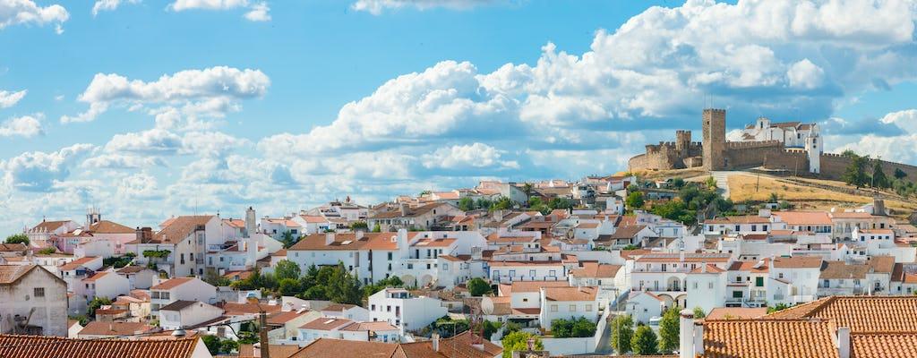 Excursión privada de Évora y Monsaraz desde Lisboa con degustación de vinos y gastronomía.