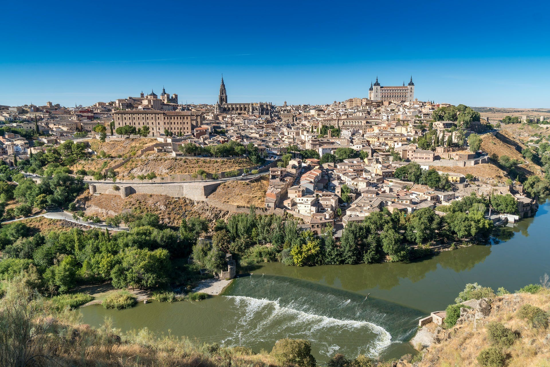 Magical Toledo day-tour from Madrid with entry to 7 Monuments and optional cathedral guided visit