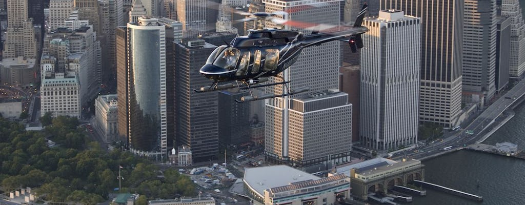 The Ultimate Tour helicopter flight over upper Manhattan
