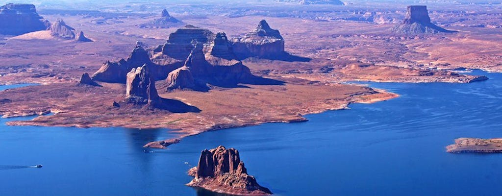Tour aérien Skyview Horseshoe Bend et Lake Powell de Page