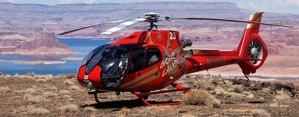 Horseshoe Bend lucht tour met exclusieve Tower Butte landing van Page