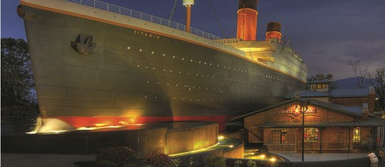 Titanic Museum Attraction Pigeon Forge tickets