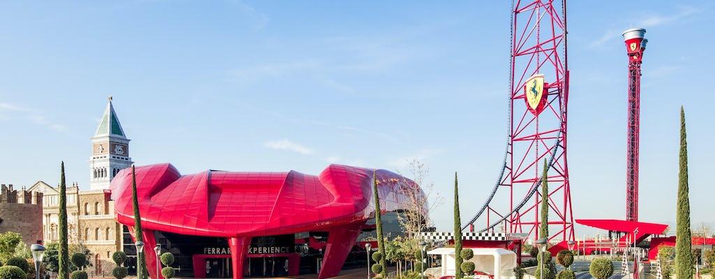 Tickets für Ferrari Land und den PortAventura Park ab Barcelona mit dem Zug
