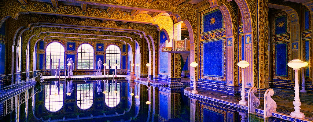Hearst Castle and wine tour