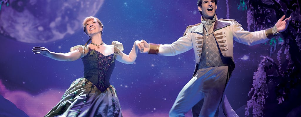 Tickets to Frozen the Broadway Musical