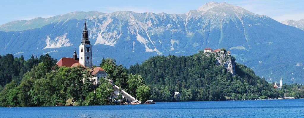 Tour del lago di Bled