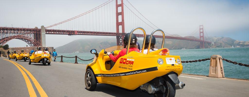 Visite de 2 heures du Golden Gate Bridge, de la Lombard Loop et du Presidio GoCar