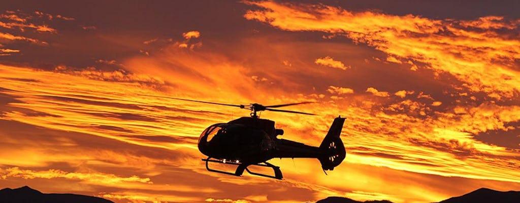 Tour en helicóptero al lado oeste del Gran Cañón con traslados y vuelo opcional al atardecer