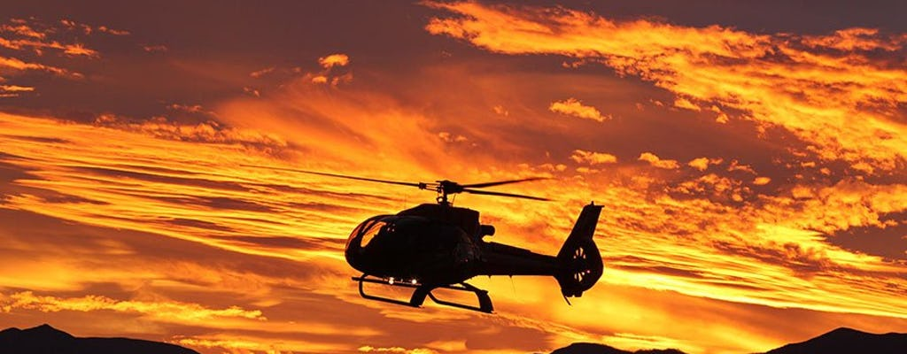Tour elicottero Ace of Adventures West Rim + trasferimento in limousine e upgrade tramonto