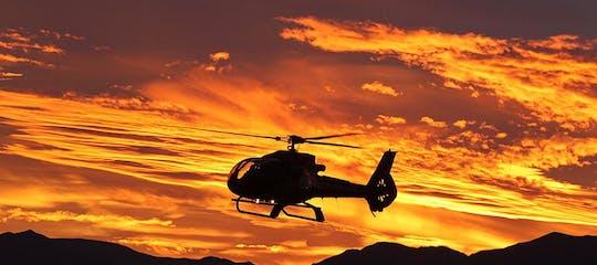 Ace of Adventures West Rim Tour aus der Luft mit Limousinentransfer & Sonnenuntergangs-Upgrade