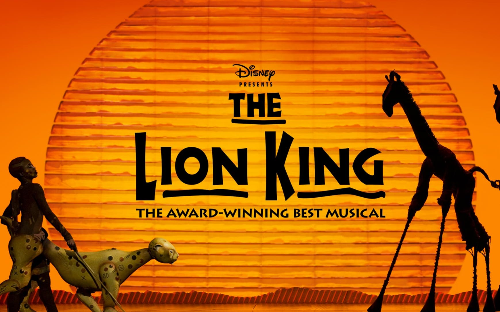 Tickets to the Lion King on Broadway