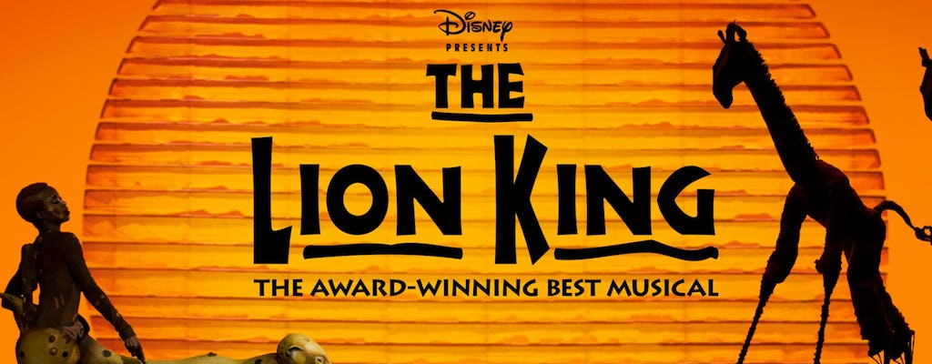 Bilhetes para o Lion King na Broadway