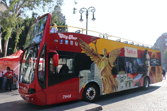 Turibus Hop-On Hop-Off Mexiko-Stadt-Tour