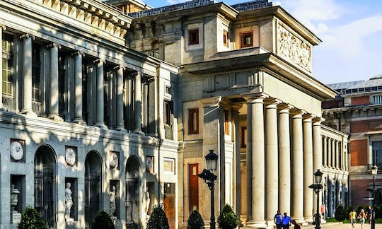Hapsburgs Madrid walking tour and entrance to Prado Museum