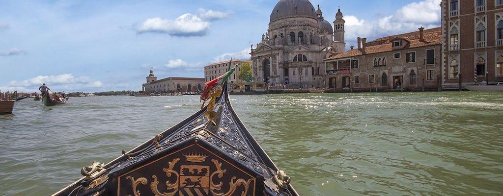 Paseo privado en góndola y cena en Venecia