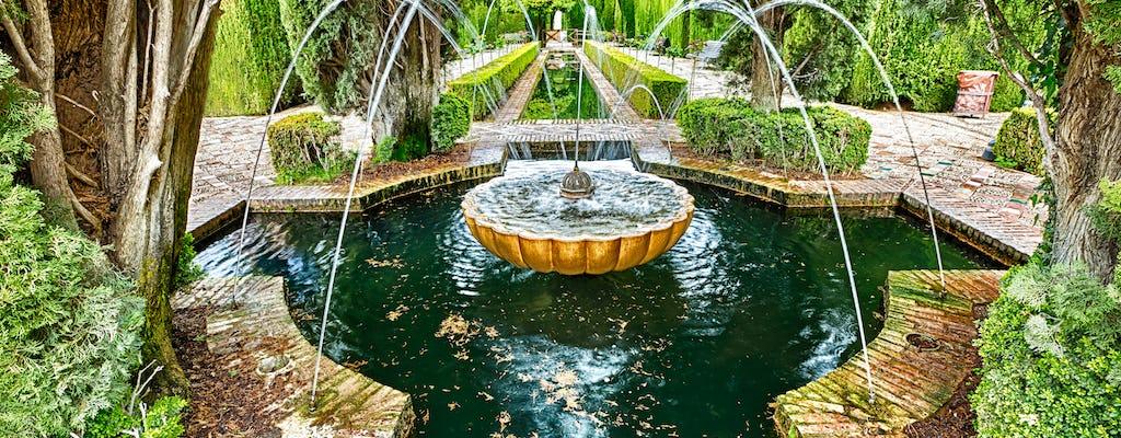 Visita guidata dell'Alhambra e del Generalife per piccoli gruppi