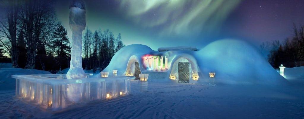 Arctic Snowcastle with dinner in ice restaurant