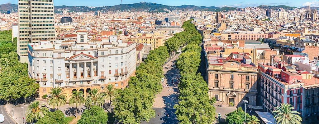 Tour de medio día por los mejor lugares de Barcelona