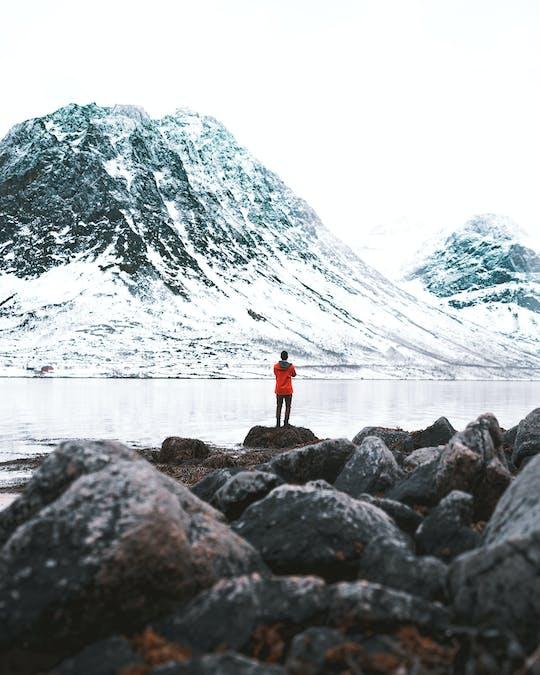 Visita turística por el fiordo ártico en minibús
