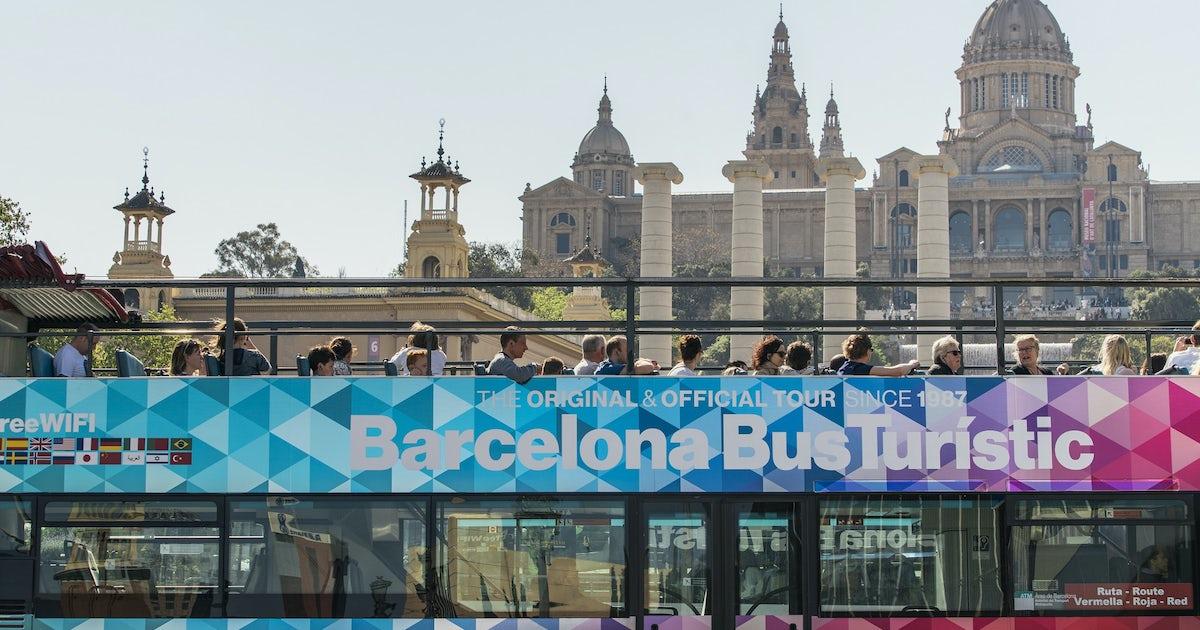 Barcelona bus turístic skip-the-line tickets 1 day or 2 days  b14d02d6aec