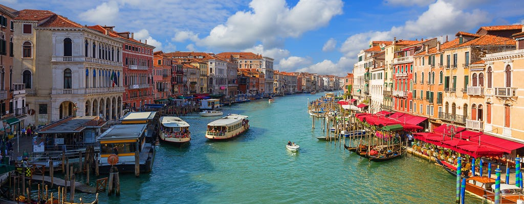 Water Taxi shuttle transfer from Marco Polo airport to Venice city center