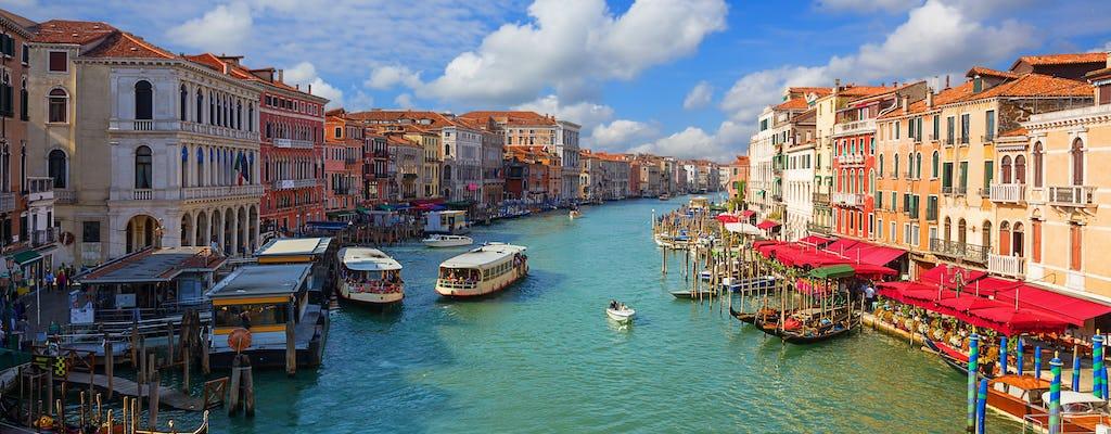 Transfer per watertaxi van de luchthaven Marco Polo naar het centrum van Venetië