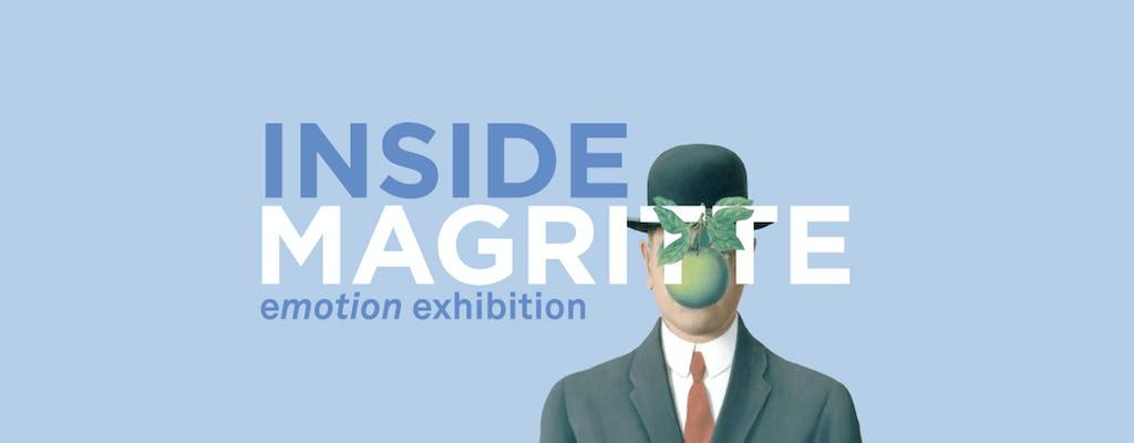 """Biglietti per la mostra """"Inside Magritte. Emotion exhibition"""" alla Fabbrica del Vapore"""