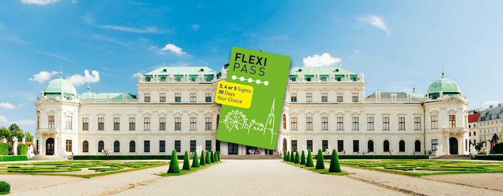 Flexi PASS for 3, 4 or 5 free attractions in Vienna