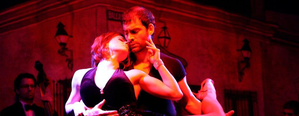 Miglior spettacolo di Tango con trasferimento privato