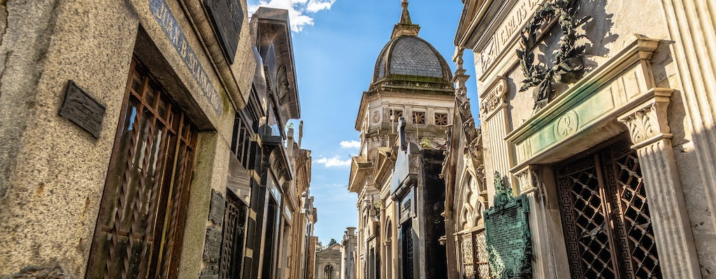 Walking Tour of the Recoleta Neighborhood in Buenos Aires