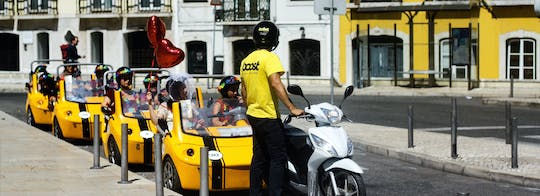 1 uur GoCar-tour in Lissabon