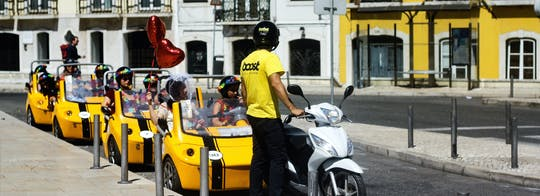 1-Hour GoCar Tour in Lisbon